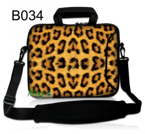 Leopard 10 10.1 10.2 Laptop Tablet Notebook Shoulder Bag  Message Bag  Sleeve Bag For  Ipad Air /10.1 Inch Acer Aspire Switch 10