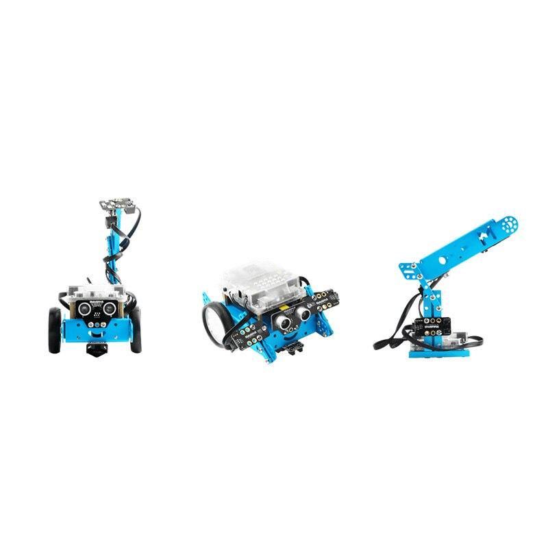 MBot, 3-in-1 로봇 애드온 팩, 3 + 모양을 위해 설계된 Makeblock Interactive Light & Sound Robot 애드온 팩