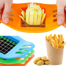 Vegetable Fruit Gadgets-Accessories Chip-Cutter Chopper-Chips Potato Kitchen-Tools Easy-Cut