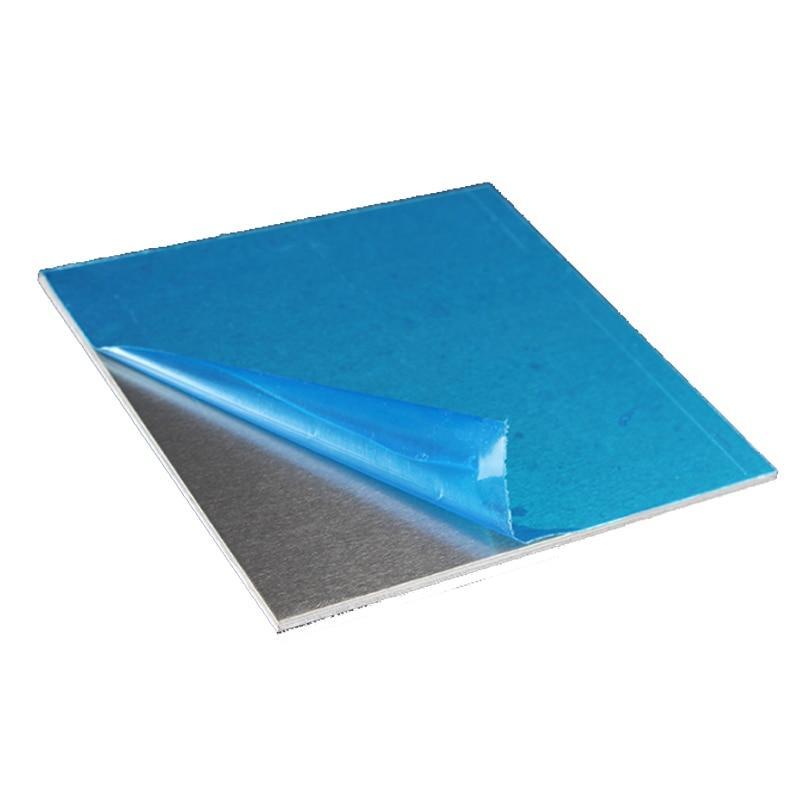 1060 Aluminum Flat Plate Sheet Machinery Parts Pure Aluminum Customizable Electrical application 3D Printed desktop