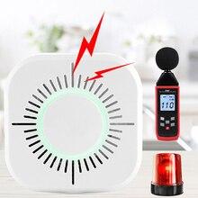 Wireless 433MHz Smoke Gas Detector Smart Sensor Home Security 360 Degree Smoke Fire-Alarm Detection No Need Gateway