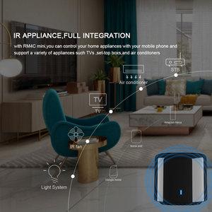 Image 4 - Broadlink Bestcon RM4C Mini télécommande universelle IR 4G WiFi IR fonctionne avec Alexa Google Assistant domotique intelligente