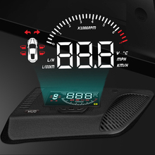 liislee car hud head up display for honda accord civic 2015 2016 safe driving screen projector refkecting windshield XINSCNUO OBD HUD Car Head Up Display For Honda Fit 2014-2019 2020 Safe Driving Screen OBD Data Projector Windshield