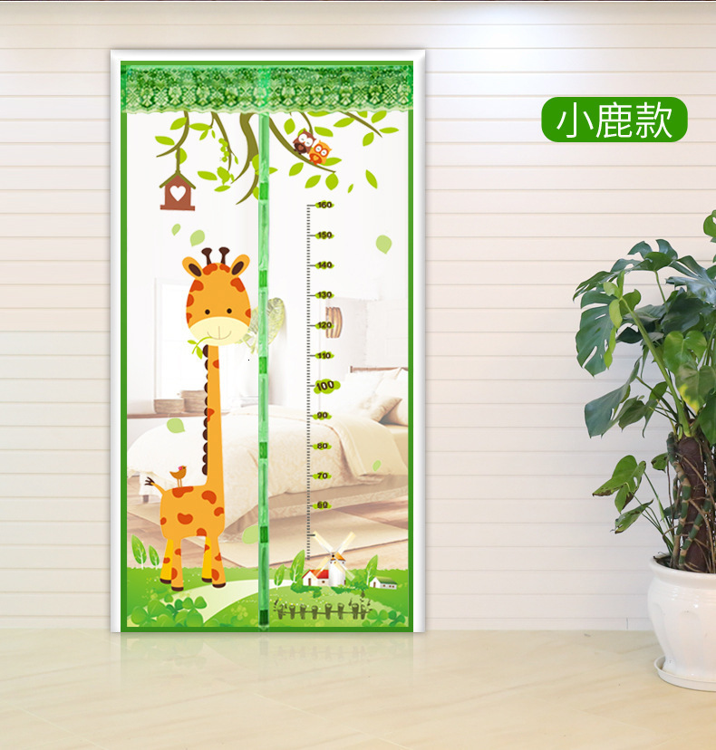 Magnetic Door Mesh Curtain Insect Mosquito Net Screen Bug Fly Guard Soft Cartoon Best Price