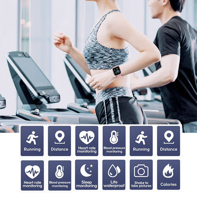 Smart watches 2020 Android smart watch men women kids smartwatch Bluetooth Heart Rate Monitor fitness watch smart connect 6