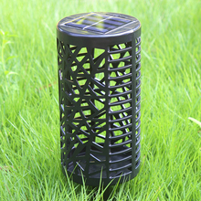 Solar Hollow Lawn Lamp Outdoor Waterproof Colorful Garden Decoration Plug-in LED Landscape Lamp Solar Power Light Outdoor