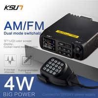 KSUN-Radio CB-27 FM/AM bidireccional, escáner, Comunicador walkie-talkie, 100km, CB, 27mHz, transceptor de Radio de coche