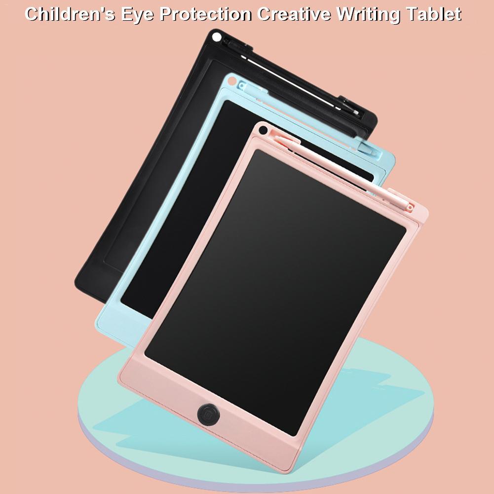 Высокое качество, 10 дюймов, ЖК-дисплей, детский коврик для рисования, детский планшет, цветной экран, каракули, доска, защита зрения, для возраста 2