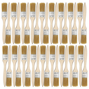 36 Pack Of 1 Inch (24mm) Paint Brushes And Chip Paint Brushes For Paint Stains Varnishes Glues And Gesso