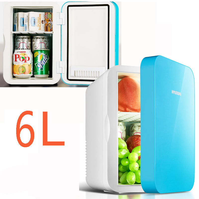 22%,pink 4L Mini Home Car Fridge Mobile Refrigerator Mute Food Grade PP Freezer ABS Aluminum 5-65 Celsius Cold/warm Box