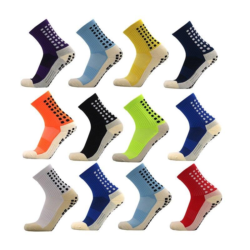Новые спортивные нескользящие носки для футбола, хлопковые носки для футбола, квадратные мужские носки, носки (того же типа, что и Trusox)