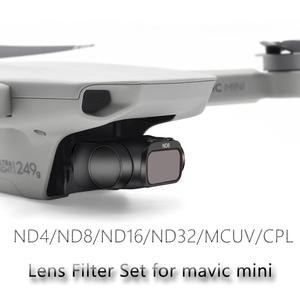 Image 2 - Mavic מיני מקצועי עדשת מסנן סט ND ND PL ND4PL ND8PL ND16PL ND32PL MCUV CPL עבור DJI Mavic מיני Drone אבזרים
