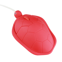 Wired Mouse Turtle-Shape 3-Buttons Notebook Computer Optical-Mice Laptop Cute USB 1 1000