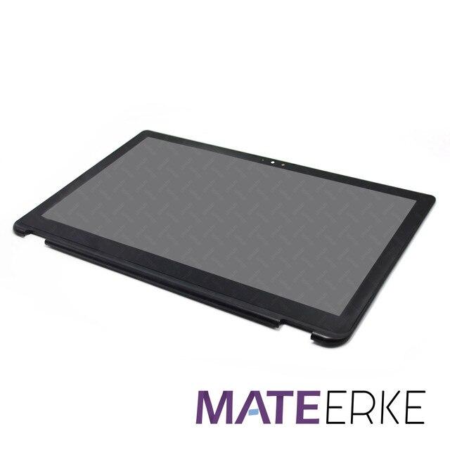LCD Touch Screen + Rahmen LP156WF5(SP)(A2) für Toshiba Satellite Radius P55W B serie P55W B5114 P55W B5318 P55W B5112