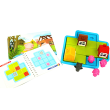 Plastic Lovely Three Little Pigs Puzzle Logical Thinking Puz