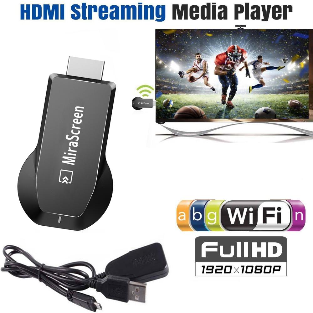 Bezdrátový WiFi Airplay telefon do TV HDTV HDMI adaptér pro iPhone 11 Pro X XS MAX XR 6 7 8 iOS pro Samsung S7 S8 S9 S10 Android