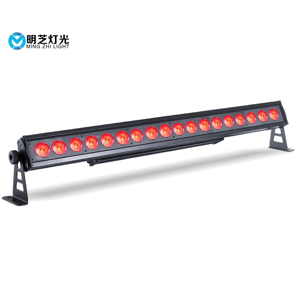 Mingzhi RGBW 4in1 IP Stage Wash Light Led Working Light Beam Auto Led Bar Light Indoor Flood Down Lighting