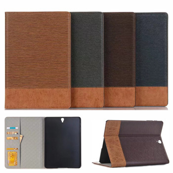 for samsung galaxy tab s3 9 7 slim folding cover case for samsung galaxy tab s3 9 7 inch 2017 version tablet sm t820 t825 Luxury PU Leather Case For Samsung Galaxy Tab S3 9.7 2016 T820 T825 Case Cover Funda Fashion Tablet Flip Stand Shell T820 case