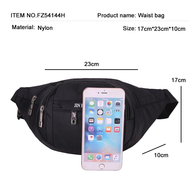 Fanny Pack Waist Pack Women Running Waterproof Waist Bag Mobile Phone Holder Men Gym Fitness Travel Pouch Belt Pink Chest Bags
