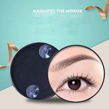 Портативное косметическое зеркало для макияжа увеличение с двумя