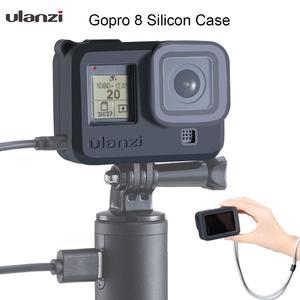 Image 3 - Ulanzi G8 3 מלא כיסוי סיליקון מגן מקרה עבור GoPro 8 גיבור שחור עם סוג C טעינת יציאת Gopro 8 אביזרים