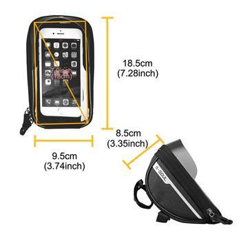 Bicycle Cycling Bike Head Tube Handlebar Phone Bag Case Holder Phone Mount Waterproof Touchscreen MTB Cycling Bag Accessories 8