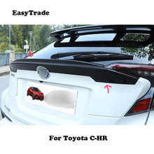 For Toyota CHR C-HR accessories 2019 2018 Car Rear Trunk Wing Spoiler High Quality Carbon fiber