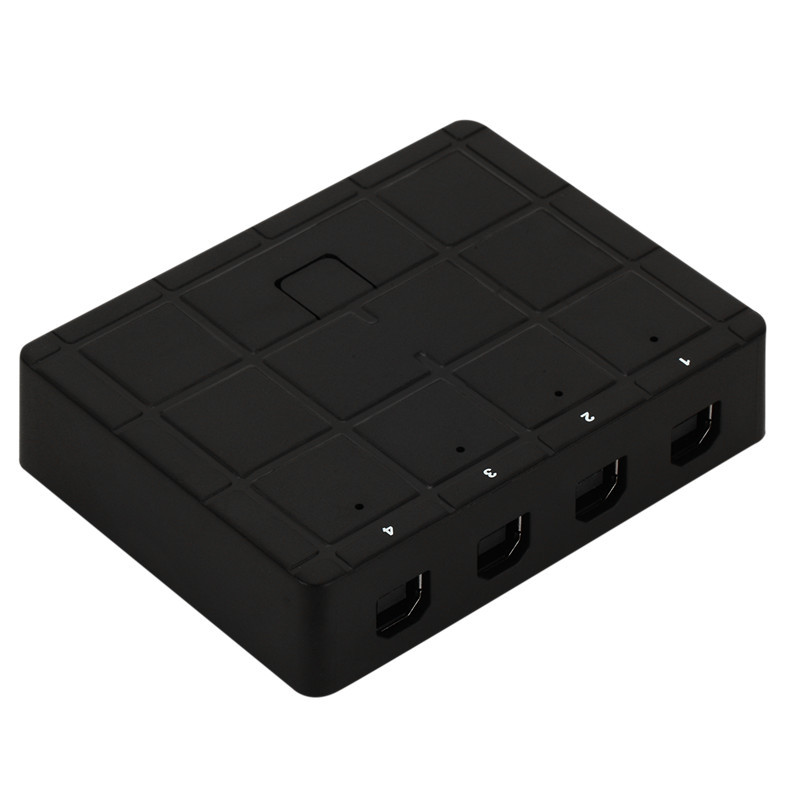 4 Ports USB2.0 Sharing Device Switch Switcher Adapter Box For PC Scanner Printer