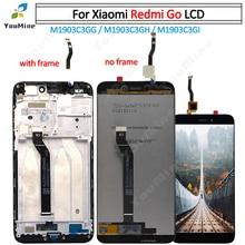 """מקורי 5.0 """"עבור Xiaomi Redmi ללכת LCD מסך תצוגה + מגע Digitizer עצרת עבור REDMI ללכת תצוגת M1903C3GG M1903C3GH m1903C3"""