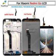"""Oryginalny 5.0 """"dla Xiaomi Redmi Go ekran LCD + montaż Digitizer dotykowy dla REDMI GO wyświetlacz M1903C3GG M1903C3GH M1903C3"""
