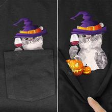 Футболка plstar cosmos с карманами для Хэллоуина футболка принтом