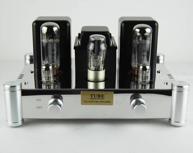 A10 EL34b Einseitig rohr verstärker 5Z4P Gleichrichter 6N2 Rohr Haushalt Audio class A amp 12W × 2