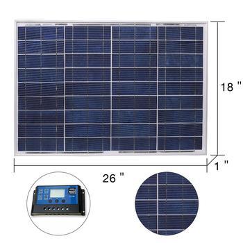 DOKIO 18V 40W Polycrystalline Solar Panel 460*660*25mm Silicon Power Painel Top Quality Solar Battery china Solar Fotovoltaico 3