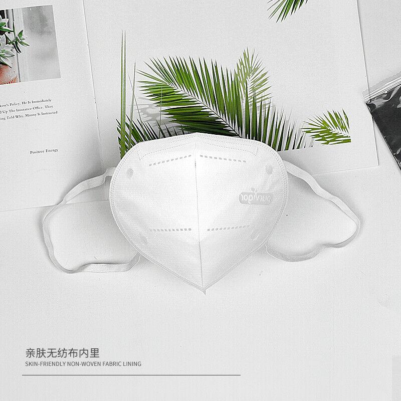1 PC Adjustable Bridge Of Nose Reusable FDA CE Certified KN95 5-layer Grade Mask Antibacterial Respirator Protective Mask