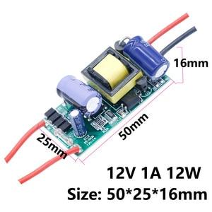 Image 3 - LED נהג 220V כדי 12V 24V אורות 6W 12W 24W 36W 60W 84W 100W 120W עבור LED ספק כוח 12V אור רובוטריקים עבור מעבד מאוורר