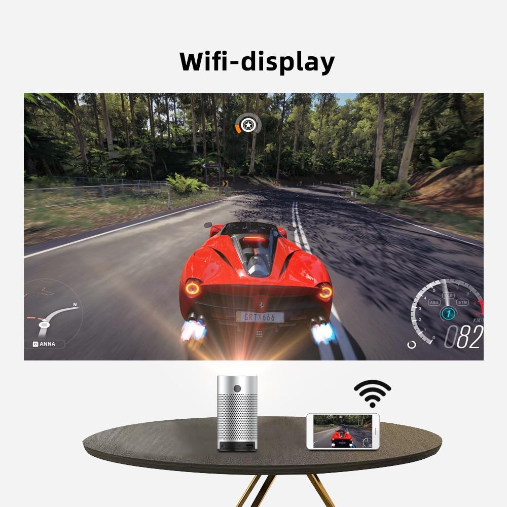 Byintek p7 projetores de bolso portátil pico inteligente android wifi 1080p 4k tv laser mini led cinema em casa telefone dlp projetor-3