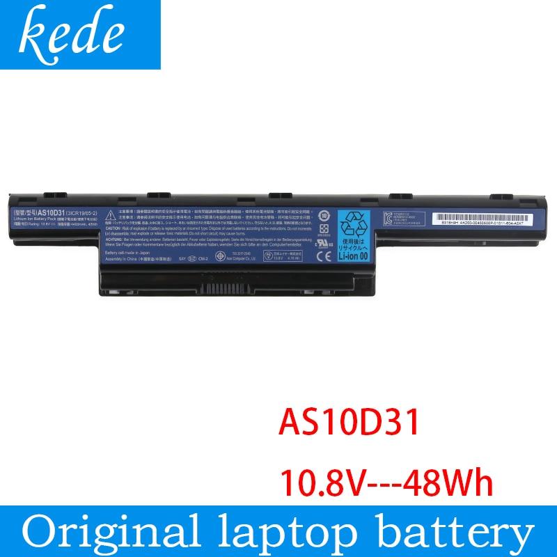 Kede V3 Original bateria do portátil para Acer Aspire 5741 5742 5750 5560G 5741G 5750G AS10D31 AS10D51 AS10D61 AS10D71 AS10D75 AS10D81