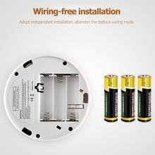 Alarm Smoke Independent-Sensor-Alarm Sensitive-Detector CO Dual-Sensors Home-Security