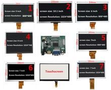 7/8/9/10.1 дюймовый 1024*600 экран ЖК-дисплей с HDMI VGA плата драйвера монитор для Raspberry/Banana/Orange Pi Mini компьютера
