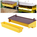 Новинка 2021, пластиковая лоток для пчеловодства для пыльцы, желтая со съемным вентилируемым лоток для пыльцы #566
