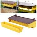 Пластиковая пыльцеуловитель для пчеловодства, желтая лоток со съемным вентилируемым лоток для пыльцы, пыльцеуловитель, инструменты # j4s