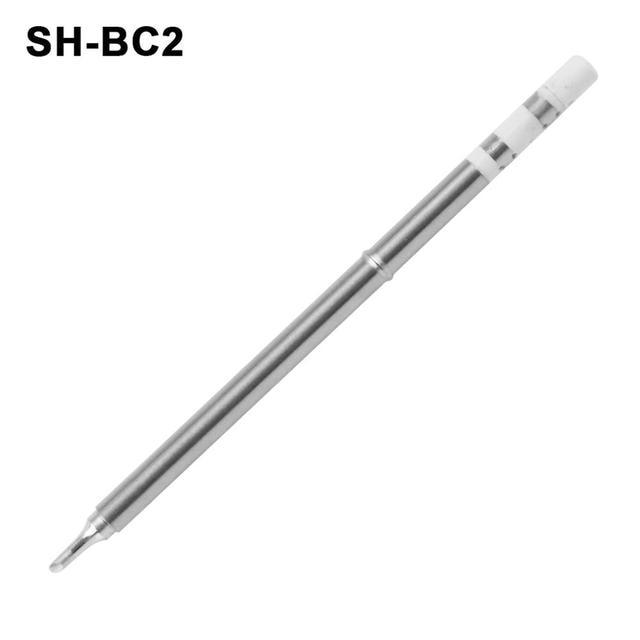 SH72 pointes de fer à souder chauffage de remplacement tête de soudure SH BC2 B2 C4 D24 K I ILS JL02 KU pour station de soudage numérique SH72 65W  