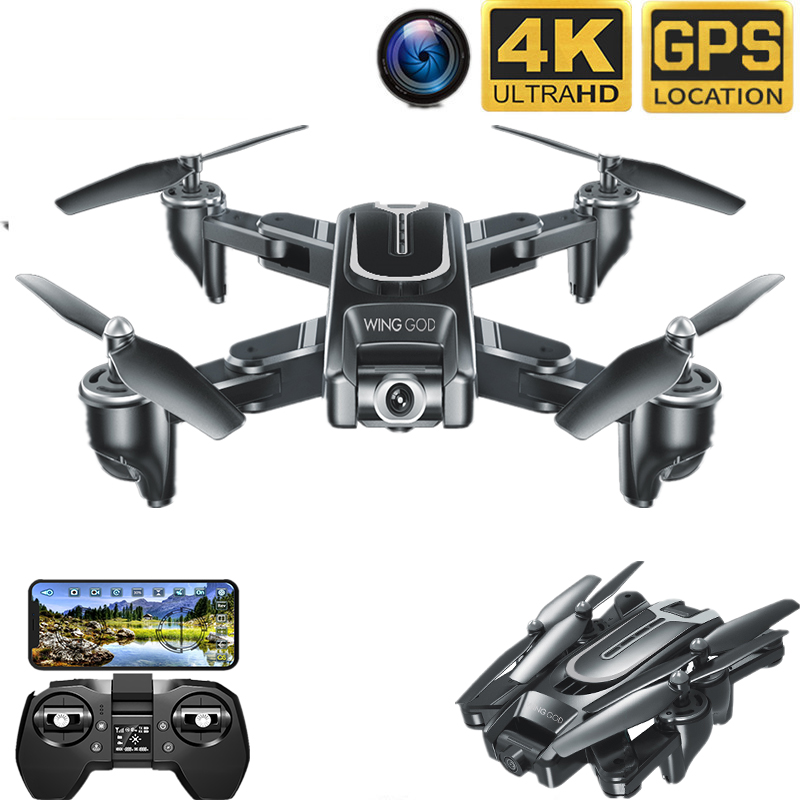 New VISUO XS817 Drone GPS 4K 50x zoom HD Camera Follow me WIFI FPV RC Quadcopter Live Video Altitude Hold Auto Return RC Dron