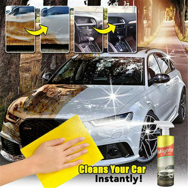 Car Interior Cleaner Leather Upholstery Cleaner Repair Kit Car Seat Sofa Cleaner Spray Car Accessories Wash Maintenanc TSLM2