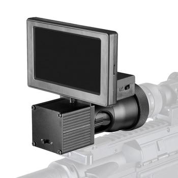 Fire Wolf Night Vision HD 1080P 4.3 Inch Display Siamese Scope Video Cameras Infrared illuminator Riflescope Hunting Optical 4
