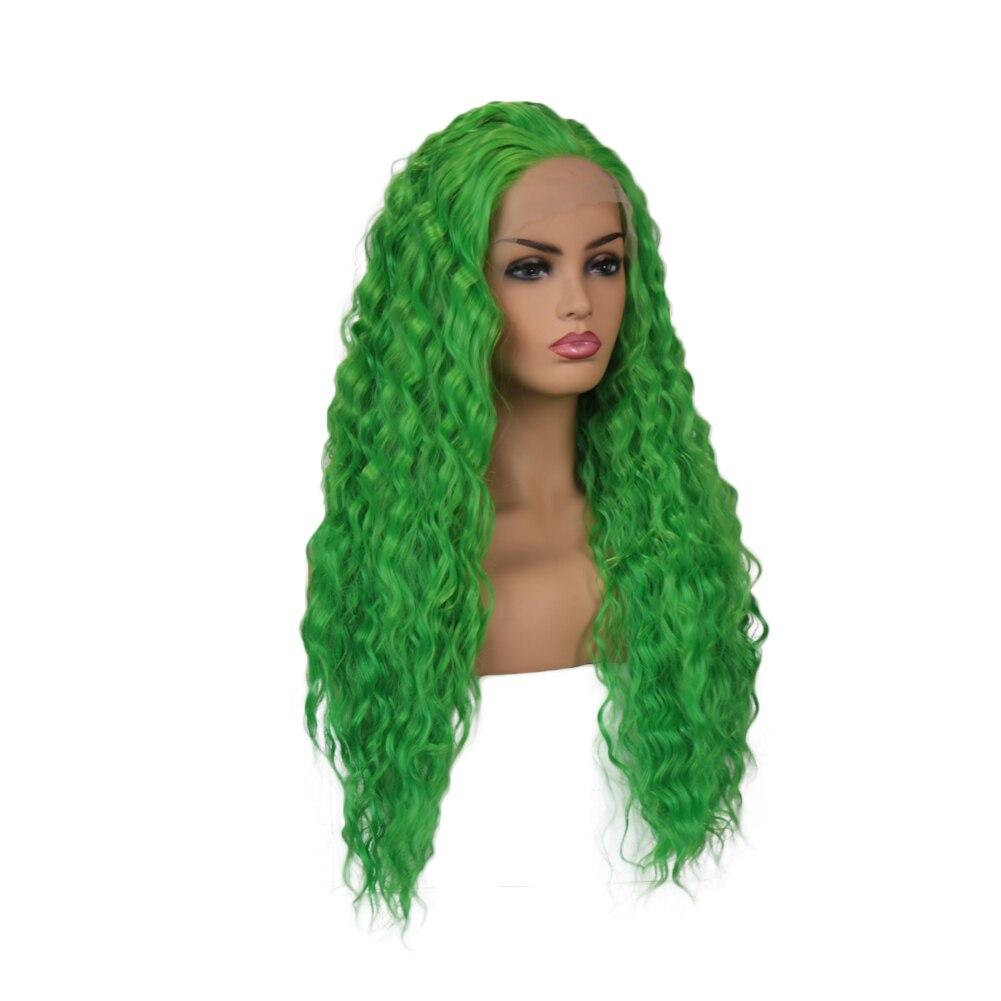 Quinlux perucas peruca dianteira do laço sintético
