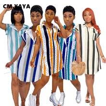 Kobiety moda lato w paski drukuj Mini sukienka z krótkim rękawem bluzki Slim sukienka bandażowa typu Bodycon nocna impreza klubowa sukienki Midi Vestidos