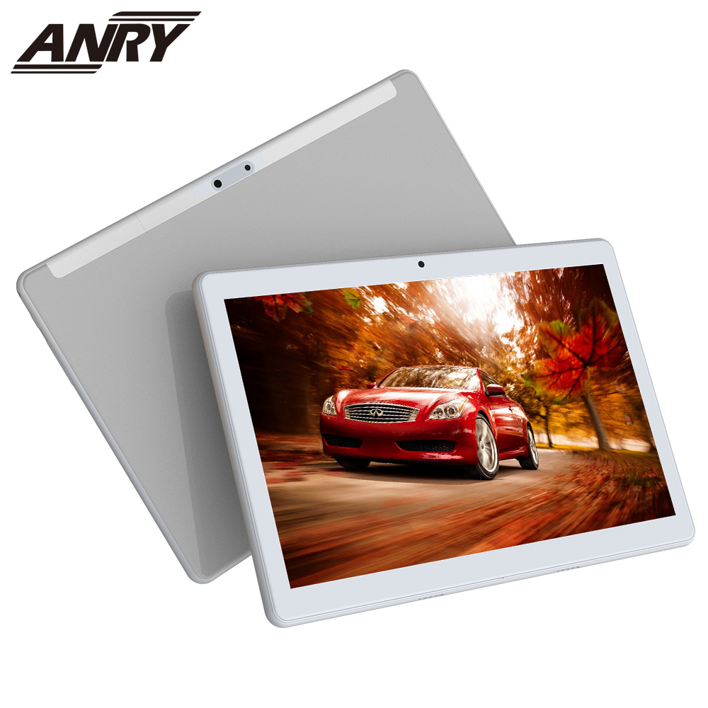 ANRY Tablet 10 Inch 3G Phone Call Google Market Dual SIM Cards CE Approved WiFi GPS Bluetooth 10.1 Tablets