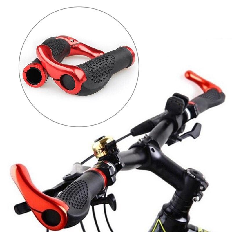 Новый 1 пара mtb руль велосипеда ручка эргономичный анти замок