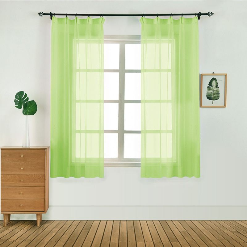 Hot Promo #803 - Modern Tulle Sheer Curtains Door Window ...